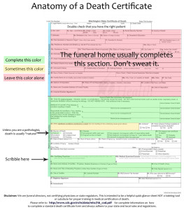 Anatomy of a Death Certificate