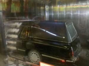 Hearse car wash